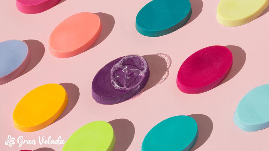 Qué colorante usar para hacer jabones