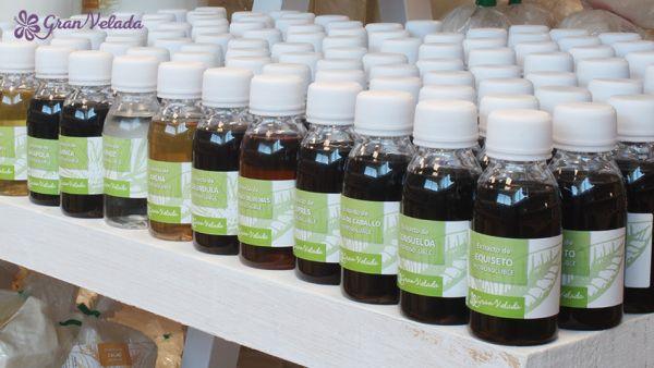 Extractos de plantas para jabon de Glicerina.