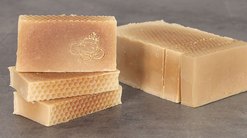 Jabón casero de Aceite con miel