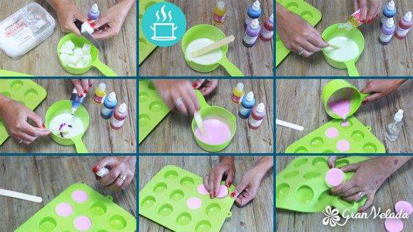 Como se hace el jabón de glicerina