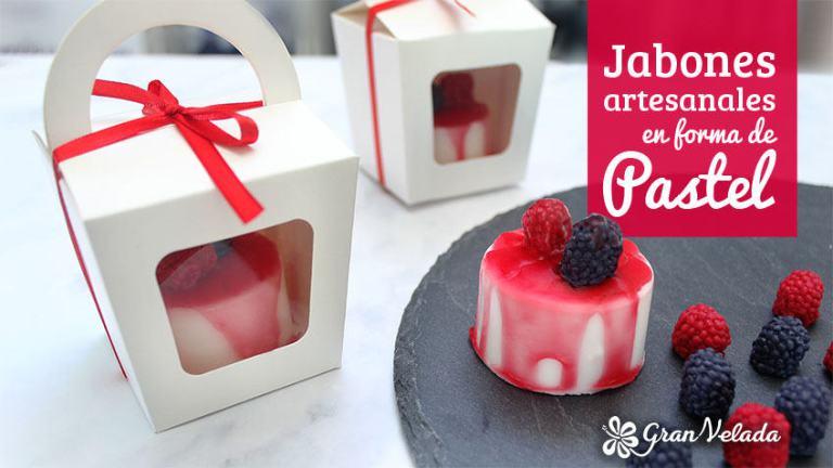 Jabon en forma de pastel