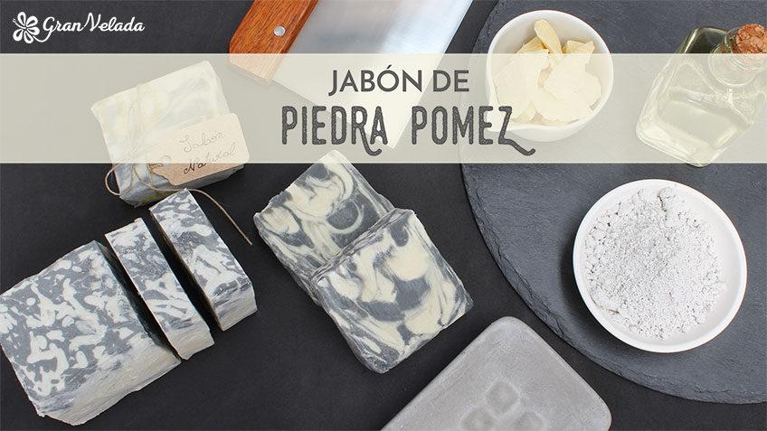 Tutorial para hacer Jabon de piedra pomez con vídeo y paso a paso