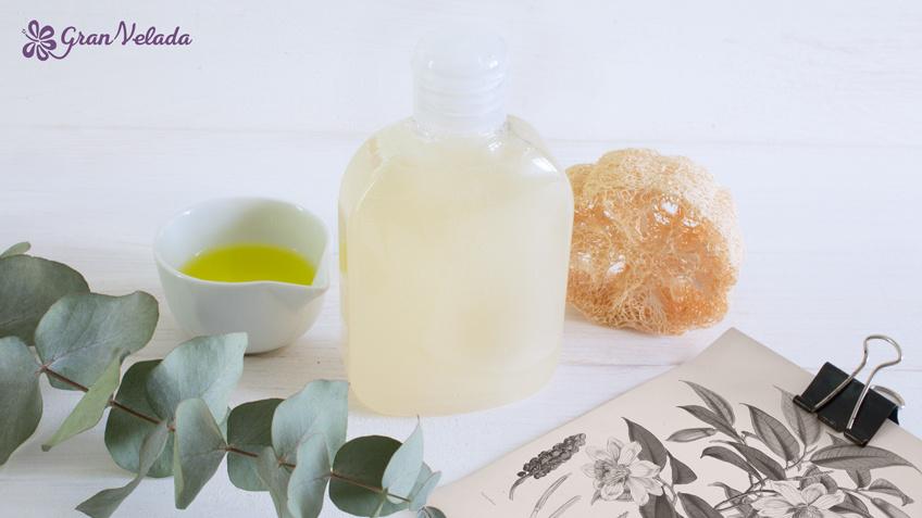 Gel de baño natural casero