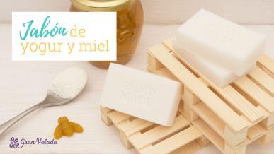 Jabon de yogur y miel