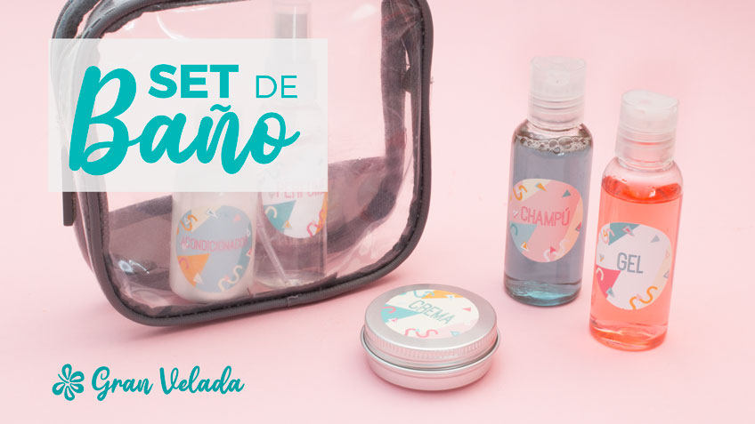 Set de baño mini
