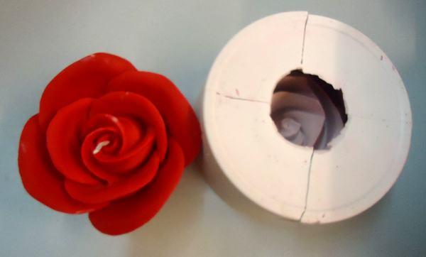 Vela de Rosas ideal como detalle de Boda