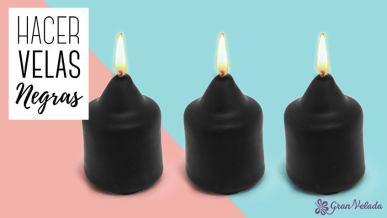 Hacer velas negras