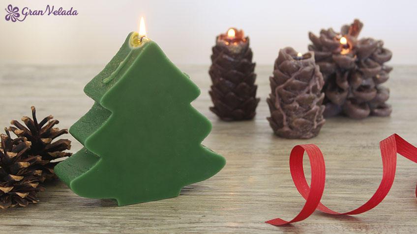 Como hacer velas de Navidad caseras