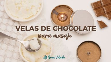 Velas de chocolate