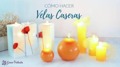 Recetas paso a paso para hacer velas decorativas decora a for Como hacer velas decorativas