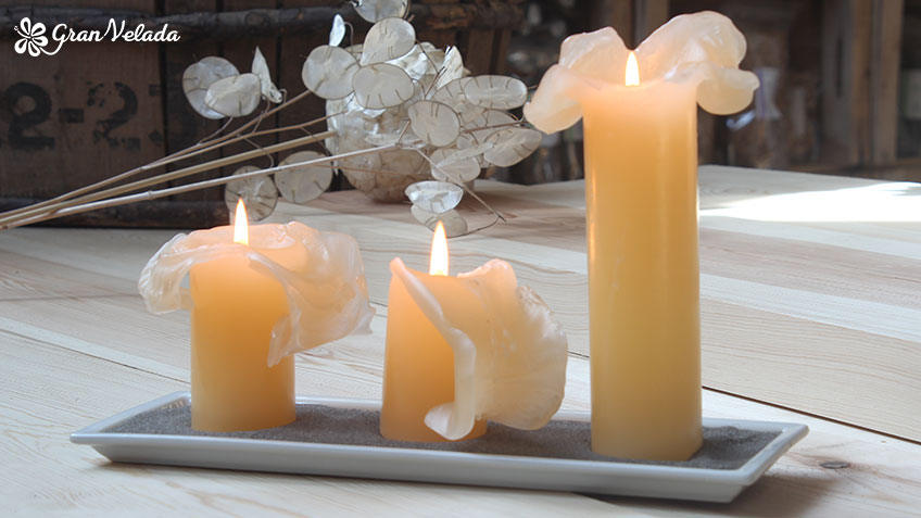 Receta de velas caseras