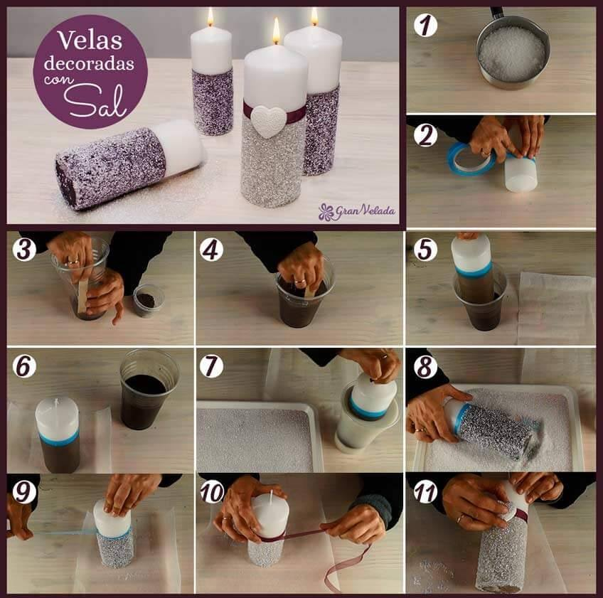 cmo hacer velas decoradas de forma artesanal paso a paso - Velas Decoradas