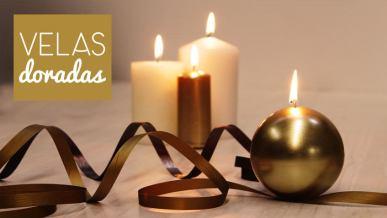 Ritual velas doradas