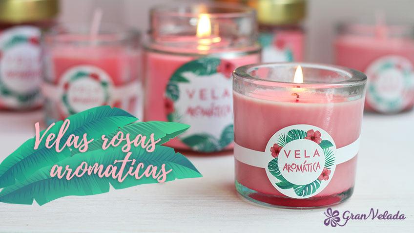 Tutorial con varias ideas para hacer velas de olor caseras.