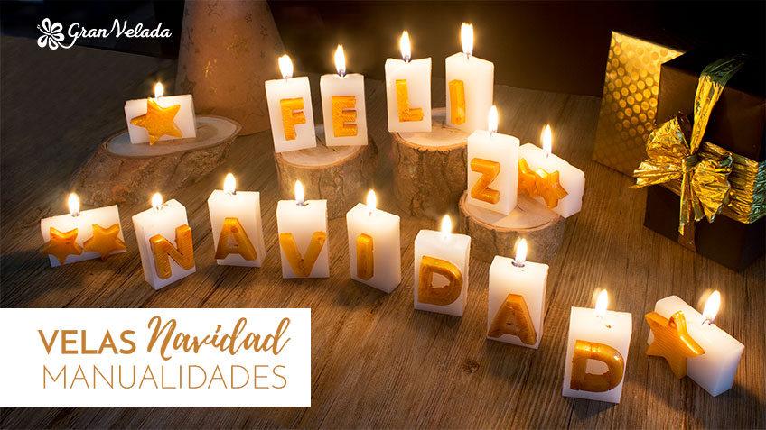 Como hacer velas de navidad aprende con nuestros tutoriales - Velas de navidad decoradas ...