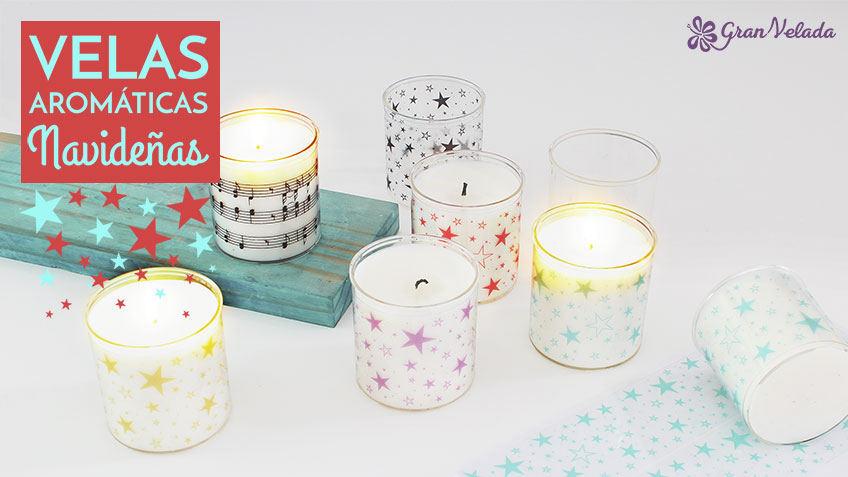 Tutorial para hacer velas aromaticas navideñas en casa
