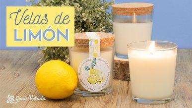 Tutorial para aprender como hacer Velas de limon en casa con vídeo y paso a paso