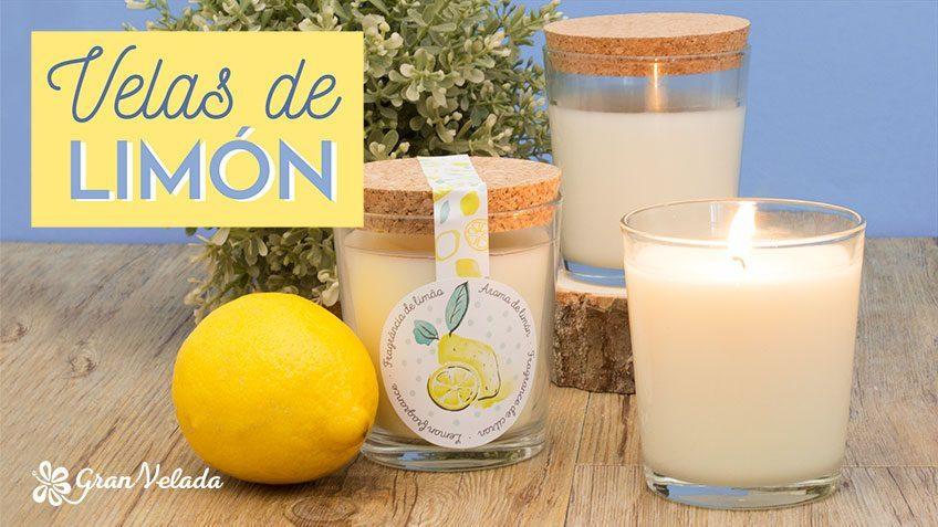 Velas de limón