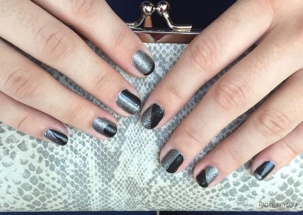 Nail Art: Dark Sides of Grey de L`Oreal Paris – #notd