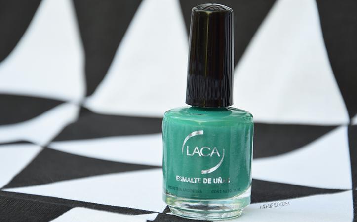 esmaltes laca verde glam