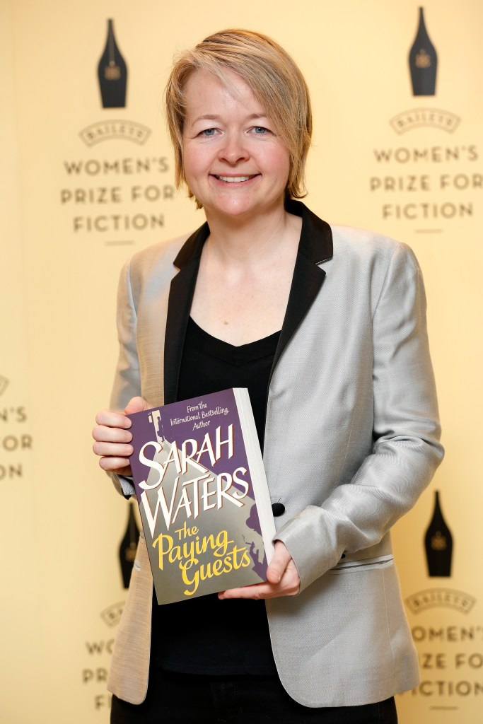 Author Sarah Waters, shortlisted for the 2015 Baileys Women's Prize for Fiction