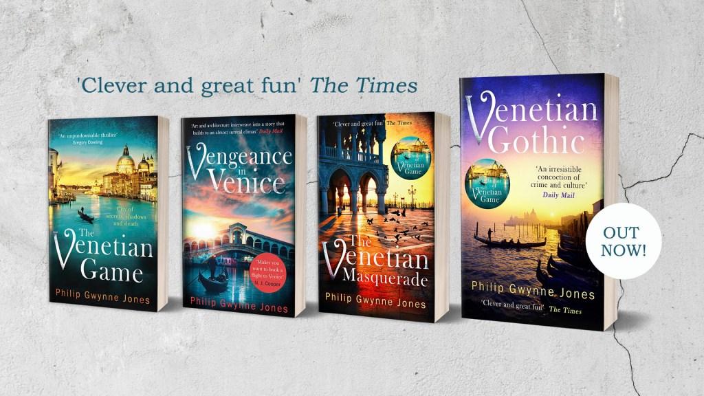 All Venice books from Philip Gwynne Jones