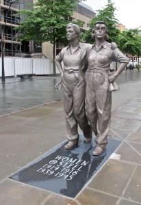 Women of Steel statue Sheffield