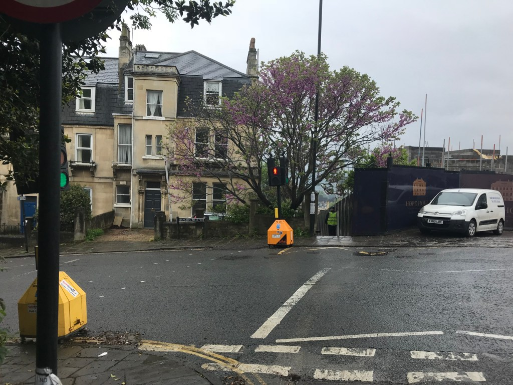 A photo of a house on Lansdown Road