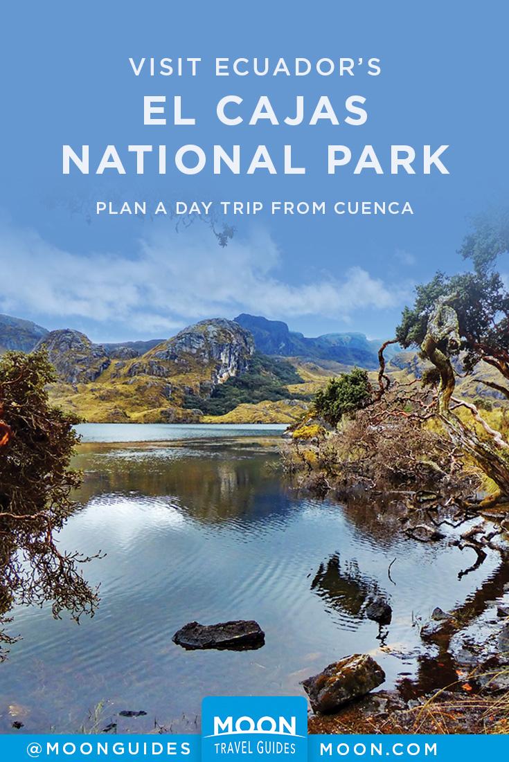 el cajas national park pinterest graphic