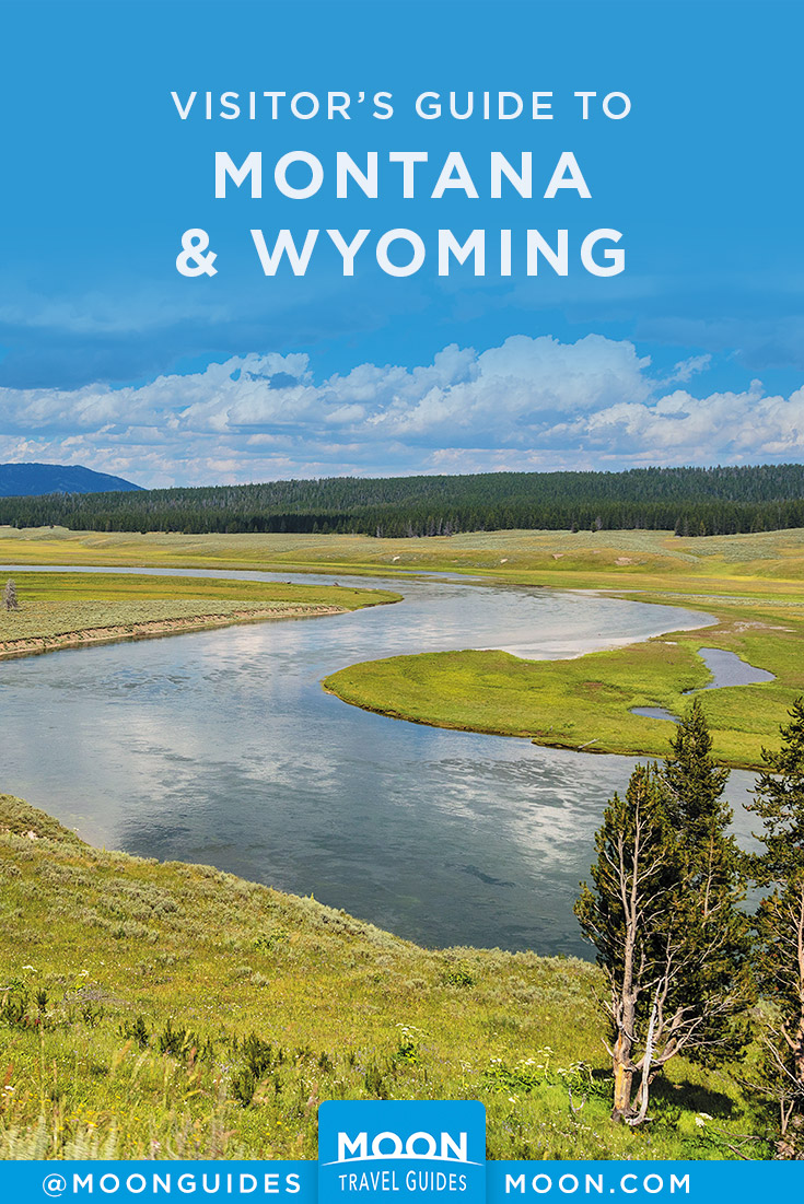 Montana and wyoming guide pinterest graphic