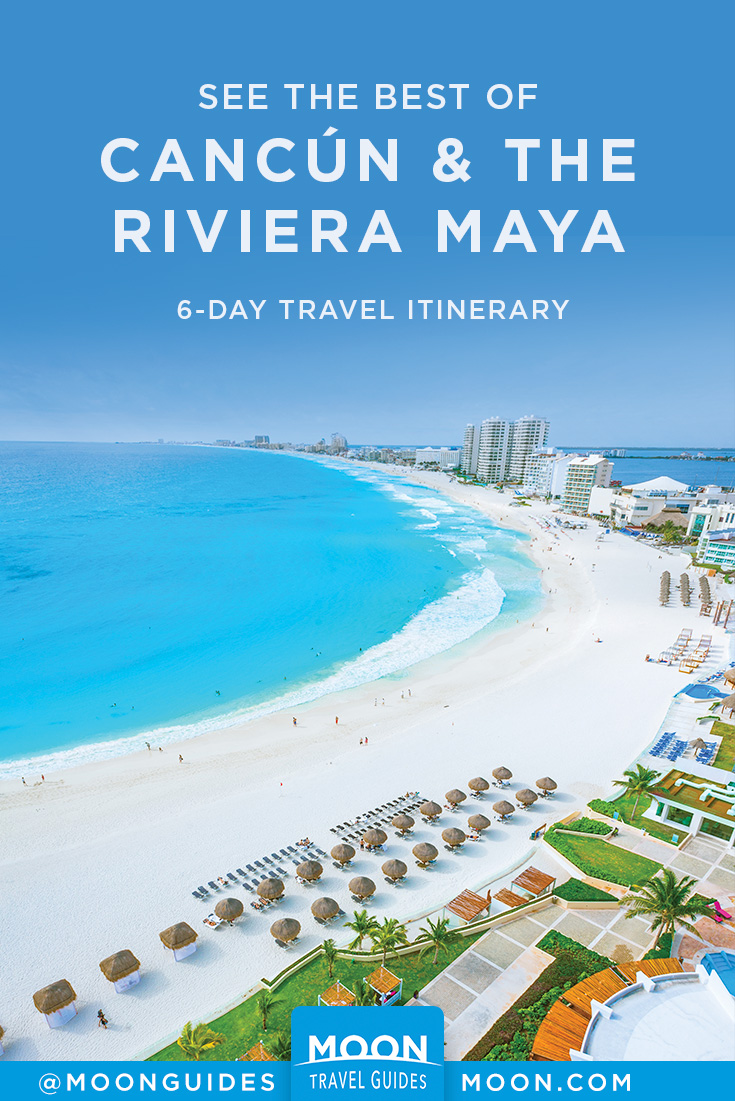 Best of Cancun & Riviera Maya pinterest graphic