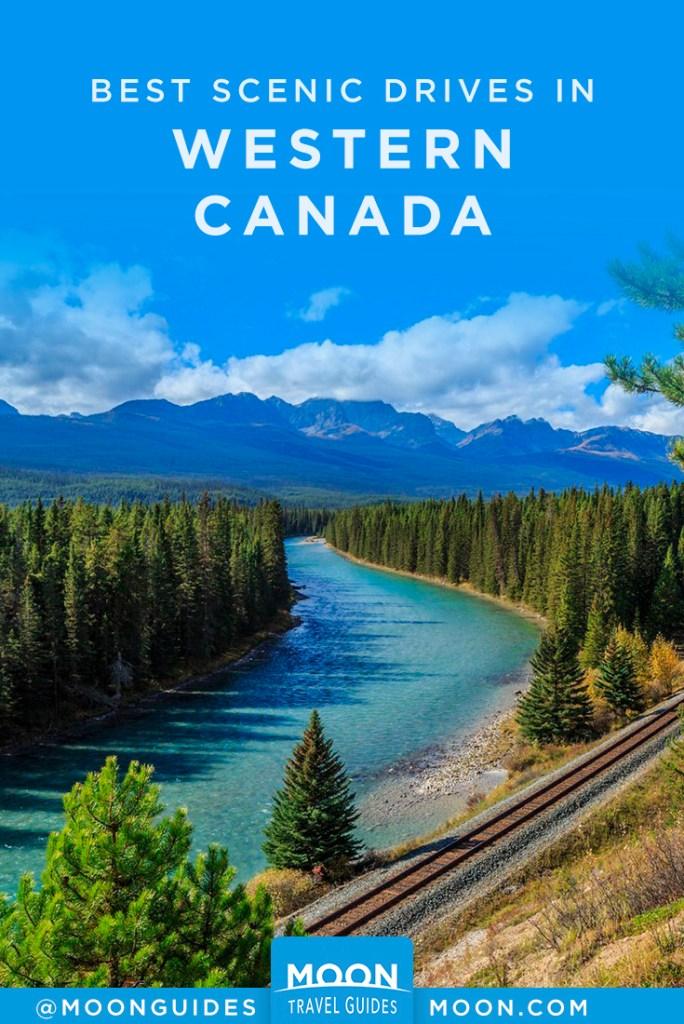 canada scenic drives pinterest graphic