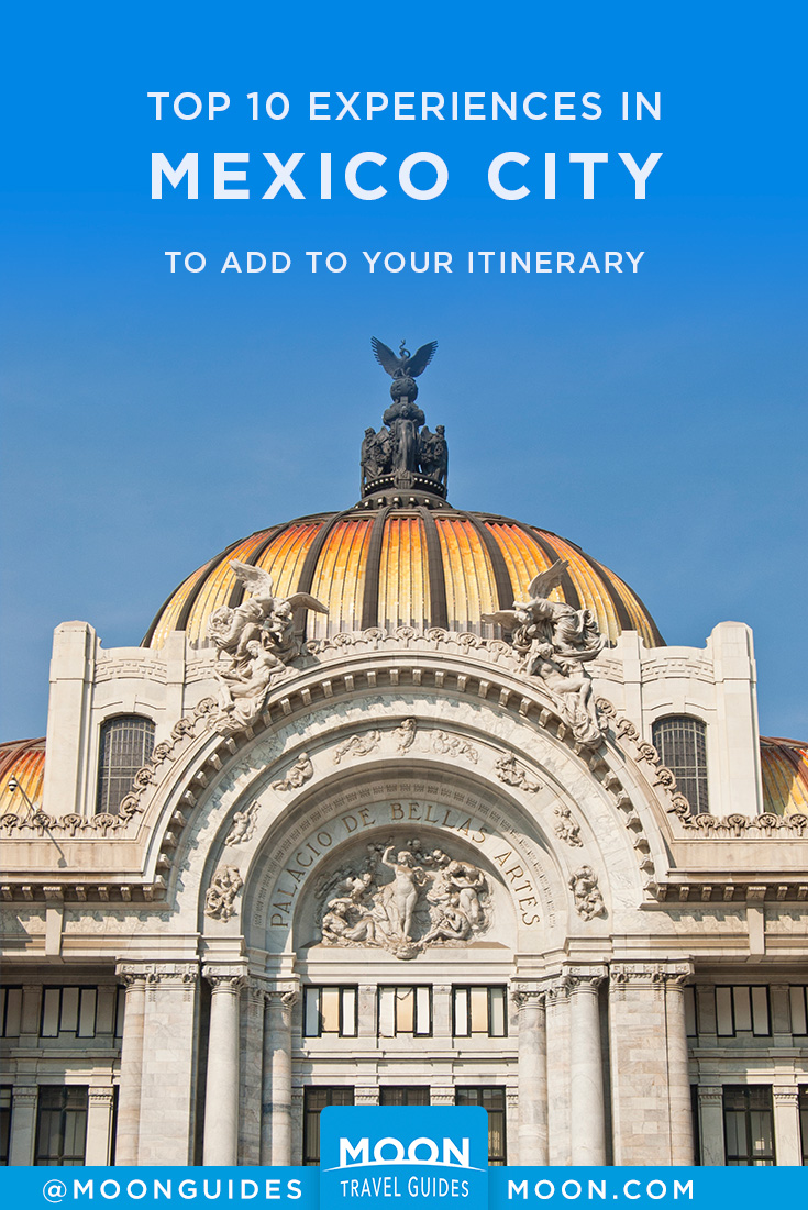Top 10 Mexico City Pinterest graphic