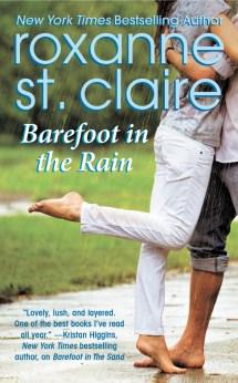 Barefoot Woman in Rain