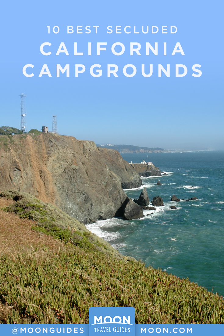 Secluded Cali Camp pinterest graphic