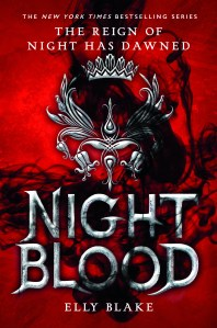 Nightblood by Elly Blake Book Cover