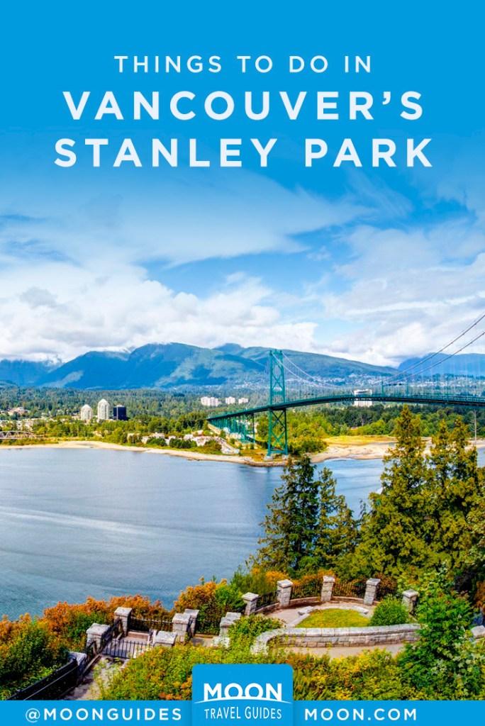 stanley park pinterest graphic
