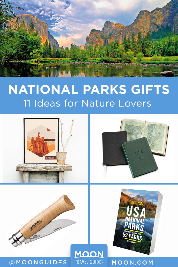 national parks gift guide pinterest graphic