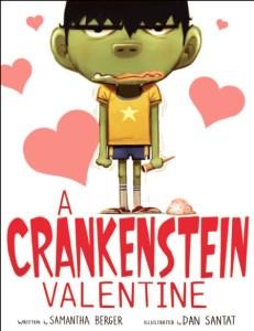 A Crankenstein Valentine cover