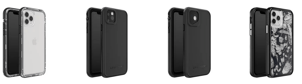 Row of Fre Phone Cases for iPhone 11