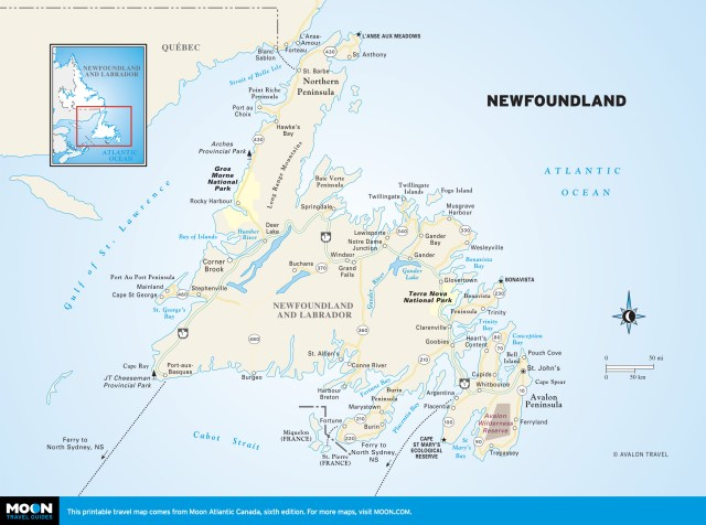 Maps - Atlantic Canada 7e - Newfoundland