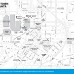Map of Downtown Atlanta