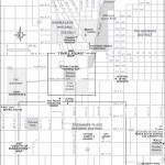 Travel map of Downtown Salt Lake City, Utah