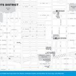 Travel map of the Arts District in Phoenix, Arizona
