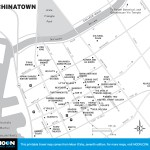 Map of Honolulu's Chinatown