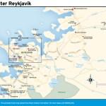 Travel map of Greater Reykjavík