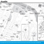 Travel map of South Austin, Texas