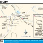 Travel map of Hill City