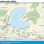 Ipanema and Leblon travel map.