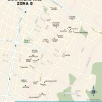 Travel map of Chapinero and Zona G, Bogota, Colombia
